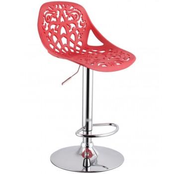 Барный стул Орнамент (Ornament) красный 001-53