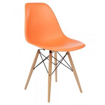 Стул Eames DSW оранжевый УТ000000654