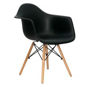 Стул-кресло Eames DAW черный 001-112
