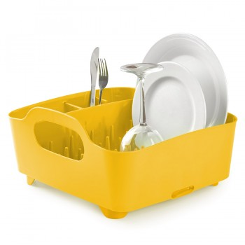 Сушилка для посуды Tub канареечно-жёлтая Umbra 330590-1048