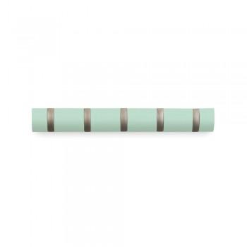 Вешалка настенная горизонтальная Flip 5 крючков Umbra 318850-730