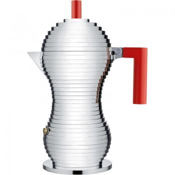 Кофеварка для эспрессо Pulcina Alessi MDL02/6 R