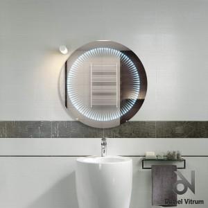 Зеркало Dubiel Vitrum ВЕНЕЦИЯ КОЛО 61x61 с внутренней подсветкой УТ000001163