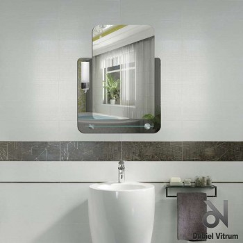 Зеркало Dubiel Vitrum ЛУКАС 53x68 с внешней подсветкой УТ000000965