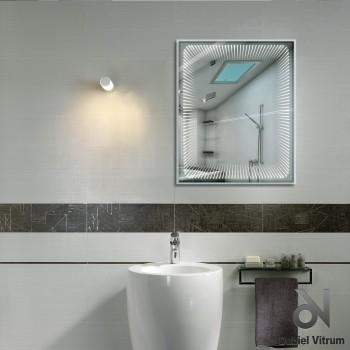 Зеркало Dubiel Vitrum ВЕНЕЦИЯ 80x75 с внутренней подсветкой УТ000001371