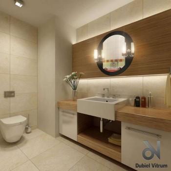 Зеркало Dubiel Vitrum АДА 70x70 с внешней подсветкой УТ000000963