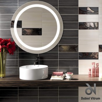 Зеркало Dubiel Vitrum ТРИТОН 67х67 с внутренней подсветкой УТ000001295