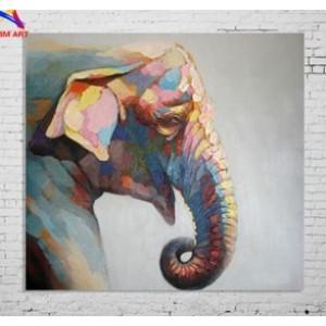 Картина слон Kare Ob55504