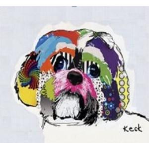Картина собака Ши Тцу Kare Ob55509