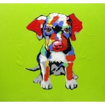 Картина грустный щенок Kare Ob55518